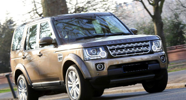 mobil Land Rover